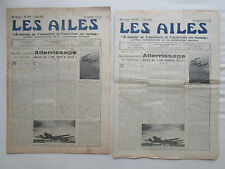 AILES 1940 979 WWII BALLON D'OBSERVATION POSTE AERIENNE BOUGIE HYDRAVION HA-138