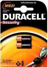 2x Batterie A23 MN21 Duracell Alkaline 12V MHD_2020, 23A LRV08 V23GA - Blister