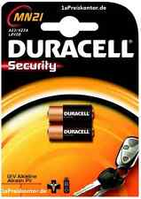 2x batería a23 mn21 Duracell Alkaline 12v mhd_2020, 23a lrv08 v23ga-Blister