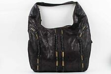 Matt and Nat Etta Black Hobo Bag Vegan Faux Leather Brand New With No Tag