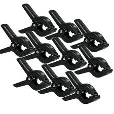 10 xHeavy Duty Muslin Clamps Set of 4.5 inch for Photography Photo Studio