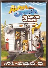 3-Movie Alpha and Omega 4, 5 & 6 - DVD Collection - BRAND NEW