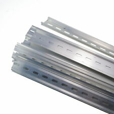 10 Piece 0.5 Meter Aluminum U Groove Slotted DIN Rail For C45 Switch Meter