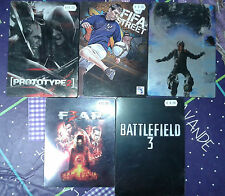 Lot 5 steelbook jeu ps3 Xbox 360 fear 3 battlefield 3 prototype 2 fifa street