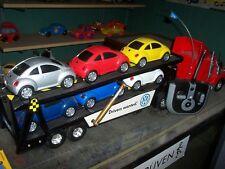 """vintage  90's  VW  DEALER   """"RC""""    autotransporter truck,  complete  &  RTR !"""