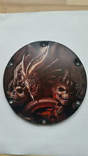 Harley Davidson sportster derby Cover skull dragon Matt alu embrayage couvercle