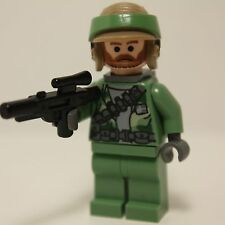 Lego Star Wars REBEL COMMANDO 8038 (beard) minifig minifigure clone