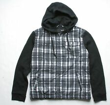 Hurley Plaid Jacket (S) Black