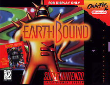 Super Nintendo Snes EARTHBOUND   Box Cover Fridge Magnet  Game Decor