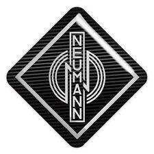 """Neumann 1""""x1"""" Chrome Domed Case Badge / Sticker Logo"""
