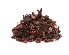 Hibiscus Tea - 2 Pounds - Large, Un-Cut Easy to Stain Full Leaf Dried Hibiscus