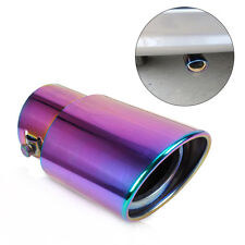 Universal straight Exhaust Tailpipe Tail Pipe Rear Muffler End Trim   6cm color