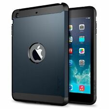 Spigen iPad Mini 3 / iPad Mini 2 Tough Armor Case - Metal Slate