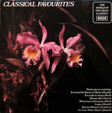 SPA 510 The World Of Classical Favourites 1977 Decca Stereo Compilation NM/EX