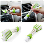New Double Ended Car Vent Brush Computer Mini Dust Cleaner Window Air Con Brush
