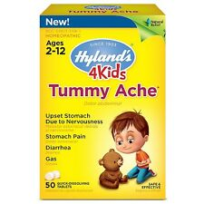 Hylands 4 Kids Tummy Ache Tablets 50 ea