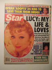 Star Magazine 9-20-1989. Lucille Ball- In Her Own Words! (I Love Lucy) Tribute
