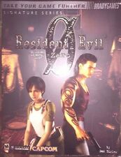 RESIDENT EVIL ZERO 0 BRADYGAMES OFFICIAL STRATEGY GAME GUIDE + POSTER