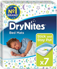 Huggies Drynites Bed Mats (7) FREE UK DELIVERY