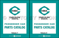 1964 Chrysler Dodge Plymouth Master Parts Book MoPar Illustrated Part Catalog
