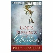 God's Blessings of Christmas by Billy Graham (2013, CD, Unabridged)