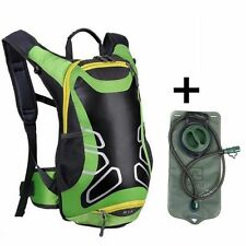 15L Bicycle Cycling Rucksack Backpack Hydration Pack 2L Water Bladder Bag 2016