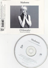MAXI CD MADONNA I'll Remember WILLIAM ORBIT REMIX 1994
