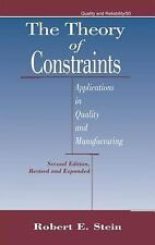 The Theory of Constraints: Applications in Quality Manufacturing, Seco-ExLibrary