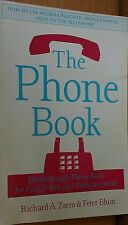 THE PHONE BOOK ~ ZARRO & BLUM ~ 1989 ~ FIRST EDITION ~ PHONE SKILLS DEVELOPMENT!