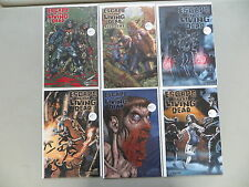 ESCAPE OF THE LIVING DEAD 6 ISSUE COMIC RUN LOT 1 2 4 5 AVATAR BLOOD RED VARIANT