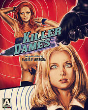 KILLER DAMES: TWO GOTHIC CH...-KILLER DAMES: TWO GOTHIC CHILLERS BY  Blu-Ray NEW