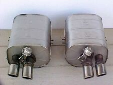 Ferrari 550 Engine Exhaust Muffler_Tips Pair Marenello_Barchetta _167998_167999