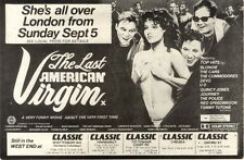 4/9/1982Pg37 Movie Advert 7x10 The Last American Virgin