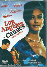 Los Angeles Cannes sola andata (1998) DVD NUOVO Maria Grazia Cucinotta G. Backer