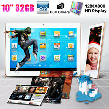 "10"" Inch 32GB Google Android 4.4 Quad Core Dual Camera WIFI Tablet PC UK Stock"
