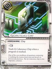 Android Netrunner LCG - 1x Q-Coherence Chip  #052 - Honor and Profit