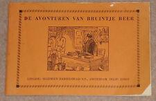 1960s/70s DE AVONTUREN VAN BRUINTJE BEER DUTCH RUPERT BEAR PAPERBACK UNNUMBERED