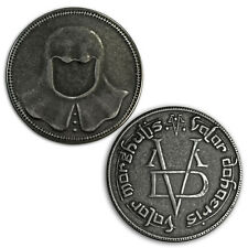 Game Of Thrones Iron Coin of the Faceless Man HBO Arya Stark Valar Morghulis New