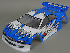 1/10 RC Car BLUE TOURING  Body SHELL Painted + Finished Red Cat 200mm BODY SHELL