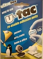 ULTRALOC U-TAC REUSABLE HOME OFFICE ART CRAFT POSTER ADHESIVE PUTTY GLUE