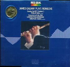 JAMES GALWAY PLAYS REINEKE RCA ATC1-4034 LP PROMO TELDEC VINYL