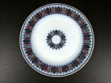 Assiette dessert porcelaine Boch Frères KERAMIS XIX modèle CELLINI signée cachet