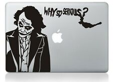 "Joker Batman Apple Macbook Air/Pro 13"" Removable Vinyl Sticker Skin Decal Cover"