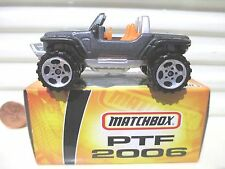 Matchbox 2006 PRE TOY FAIR PTF 2006 MB670 JEEP HURRICANE New Mint in NewMint Box
