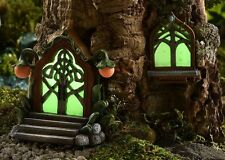 Miniature Fairy Garden Door & Window Glow-in the-Dark  700371