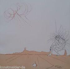 MUSEALE Salvador Dali Original Radierung 238: Méditation Orogénique