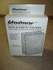 """2 GENUINE WINDMERE  WHU-35 HUMIDIFIER REPLACEMENT FILTERS  8 1/2"""" x 7"""" x 1 1/4"""""""