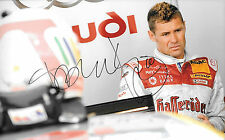 Tom Kristensen SIGNED 12x8 Audi Portrait , 9 times Le Mans 24hrs Winner