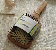 New body shop bamboo wooden paddle hair brush large