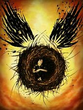 POSTER HARRY POTTER AND THE CURSED CHILD E IL BAMBINO MALEDETTO LIBRO BOOK #4